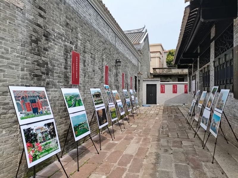 摄影展走进大岭村,一幅幅作品讲述番禺乡村振兴故事!